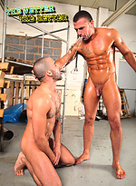 Edji Da Silva and Marco Sessions Fuck in Piss