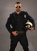 Horny police officer Will Swagger