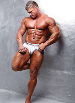 Big muscle man David Riley