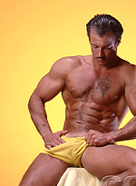 Hairy muscle man Kevin Boss