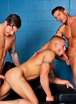 Cody Cummings, Parker London and Brody Wilder fucking